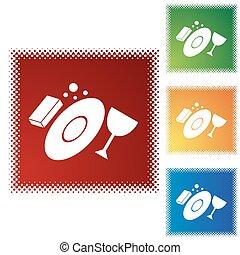 Washing dishes Stock Illustrations. 1,852 Washing dishes clip art ...
