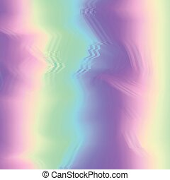 Glitch background with shiny glowing blurred colors flow -...