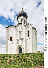 Church of Intercession on Nerl. Vladimir - Russia, Vladimir...