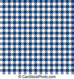 Blue check plaid seamless fabric texture