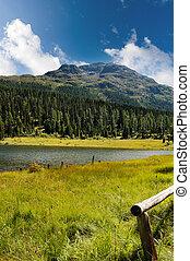 Lej Marsch - Swiss Alpine Lake - Lej Marsch small swimming...