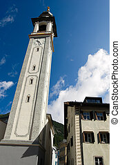 Evangelical Reformed Church - Samedan Switzerland -...