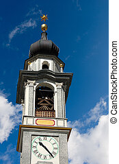 Evangelical Reformed Church - Samedan Switzerland - Detail...
