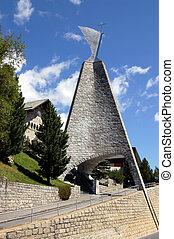Saint Mauritius Church - Saint Moritz - The church of Saint...