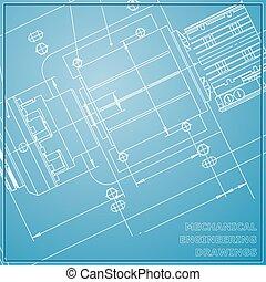 Mechanical engineering drawings