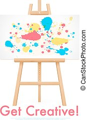 Wooden Easel Template