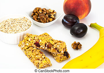 Healthy Nutrition. Childrens Food, School Lunches. Cereals,...
