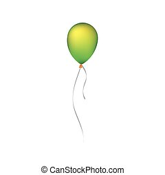 party balloon icon image vector illustration design