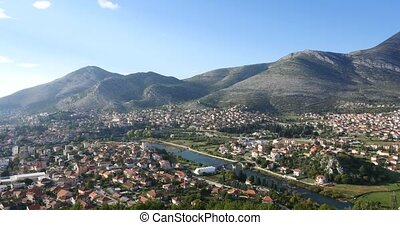 Trebinje city. Bosnia and Herzegovina - Trebinje city view...
