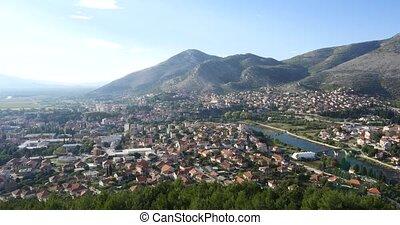 Trebinje city. Bosnia and Herzegovina - Trebinje city view...