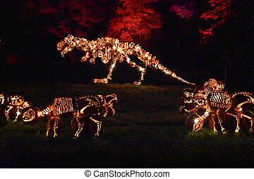 The Great Jack O'Lantern Blaze in Croton-on-Hudson in New...