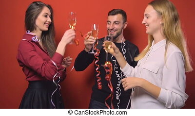 New Year Friends Party