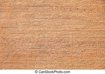 Old brick wall texture background in red