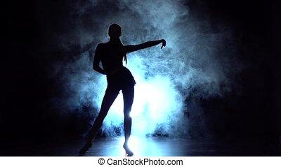 Elements of sport - ballroom dance in the studio,...