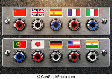 Select language. Learning, translate languages or audio...