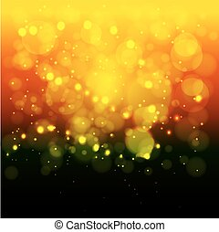 Bright lights background.Christmas. Blurred bokeh background. The concept of light