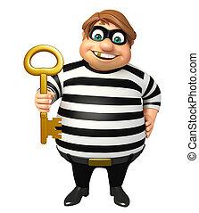 Thief with Key