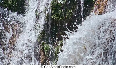 Waterfall Jur-Jur, Crimea, Ukraine - Waterfall Jur-Jur,...