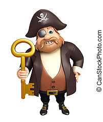 Pirate with Key
