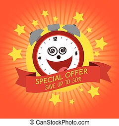 funny clock special offer discount