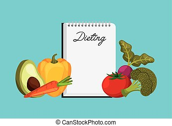 dieting and vegetables