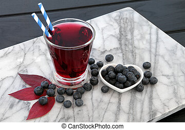 Blueberry Juice Drink