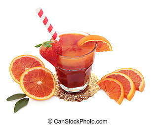 Blood Orange Juice Drink