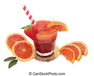 Blood Orange Juice Drink