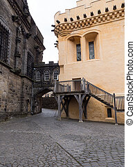 Stirling Castle, Scotland - Exterior of The Great Hall at of...