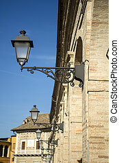 Fermo Marche Italy - Ancient city of Fermo in the Marche...