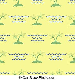 Palm Seamless Pattern