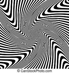 Vortex movement. - Torsion rotation vortex movement....