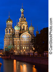 Orthodox Church of the Savior on Spilled Blood in St....
