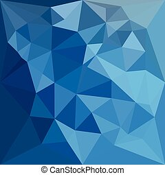 Cornflower Blue Abstract Low Polygon Background - Low...