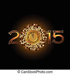Happy New Year 2015 - Abstract of Happy New Year 2015....