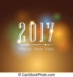 Happy New Year 2017 013 - Abstract of Happy New Year 2017....