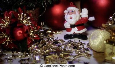 Dancing Toy Santa Claus 1 - Dancing Toy Santa Claus. Santa...