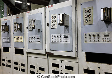 Machine equipment of canning factory - Out of use machine...