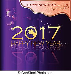 Happy New Year 2017 020 - Abstract of Happy New Year 2017....