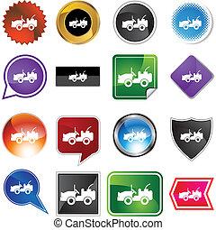 Jeep web icon