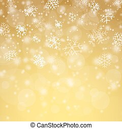 christmas time snow fall background - white snow fall...