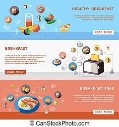 Cereal Banner Set