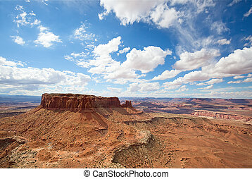 """Canyonlands - """"Island of the sky"""" of the Canyonlands..."""