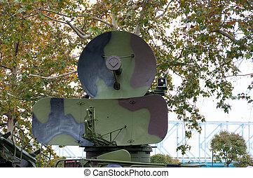 Military radar,parade,Novi Sad, Serbia - Exhibition of...
