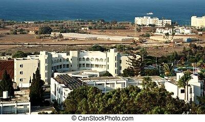 protaras, vista, aereo, Cipro