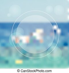 Blured vector background