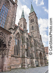 church in Nuremberg - St Sebaldus church Nuremberg, a city...