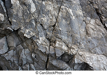 Grey stone pattern. Texture, background
