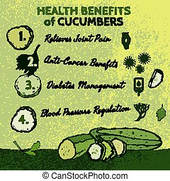 Cucambers Health Benefits 01 A - Health benefits of...