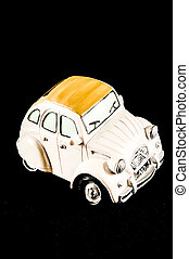 Car Statuette - Picture of an Old Classic Car Statuette